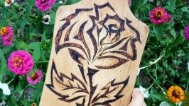 Souvenir board ′Rose′