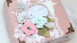 В наличии свадебный фотоальбом , свадебный скрап альбом, подарок на свадьбу
