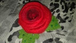 брошь ′ Бутон розы′