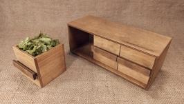 Tea chest of drawers Tea box Tea house