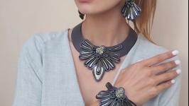 Комплект из кожи ′Magick daisy ′