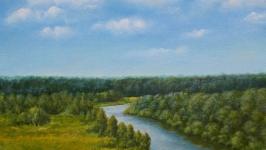 Иня в полдень  Inya River at Noon