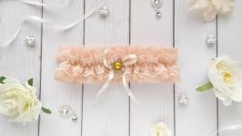 Свадебная подвязка для невесты арт. 2035