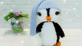 Пингвин в колпачке.