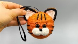 Christmas toy tiger cub, Christmas decor, Christmas tree toy