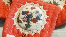Косметичка  ′ Цветы ′