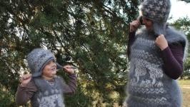 Вязанный костюм - Фемили лук