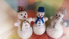Снеговик с секретом на Новый год.