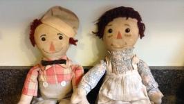 История куклы Реггиди Энн. Часть 1.