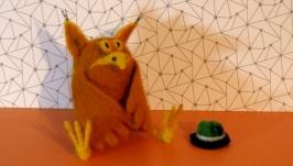 Филин из мультфильма «Большой Ух»