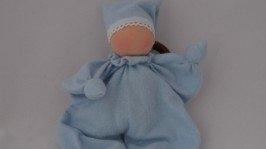 Вальдорфская кукла-бабочка, погремушка и грызунок для малышей