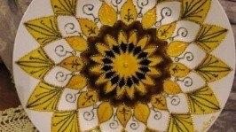 Декоративная тарелка «Солнечный день»