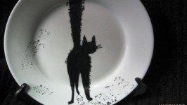 Декоративная тарелка «На удачу»