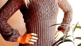 Платье вязаное ′ Какао ′