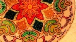 «Одна калина за вікном» декоративная тарелка
