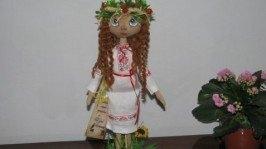 Кукла украинка - Лісова Мавка