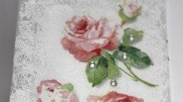 «Обложка на паспорт Винтажные розы»