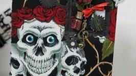 «Блокнот Death and roses»