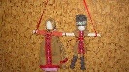 Кукла-мотанка «Неразлучники»