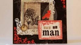 Листівка чоловіча
