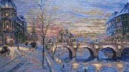 «»Картина Волшебный Париж