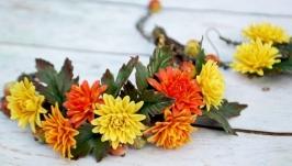 « осенние хризантемы »