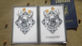 Обложка на паспорт ′Олень»