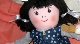 «Анюта, текстильная кукла»