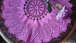 «Салфетка розовая»