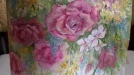 «Открытка - рисунок Розы»