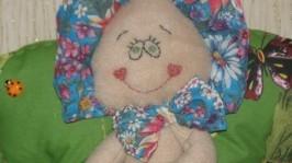 Интерьерная кукла «Весенняя бабочка»