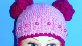 «шапочка Розовые мечты»