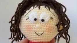 Куколка Маша крючком, парная игрушка