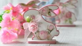 Интерьерная подставка ′Кролик′
