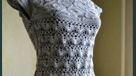 Платье«Серая дымка»