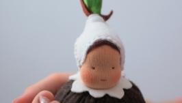 Вальдорфская кукла из верии Цветочные детки. Луковичка.