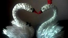 Лебеди символ любви и верности