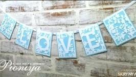 Гірлянда «LOVE»