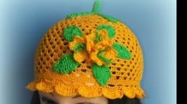 «летняя панамка-шапочка»