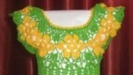 «Уникальное цветочное платье»