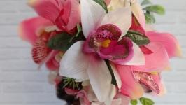 Интерьерная композиция Дикая орхидея