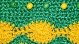 «КОСМЕТИЧКА «GREEN» С БУСИНАМИ»