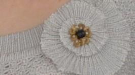 «Серая элегантность» блузка.