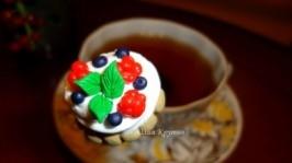 Сладкая ложечка «Пирожное-мороженое»