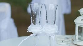 Свадебные бокалы «Роза»