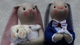 Свадебные зайки