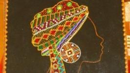 панно «Африканка»