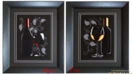 «Любимое вино»Вышивка крестом.
