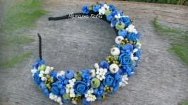 «обруч з синіми розами»