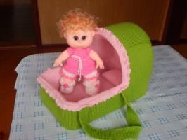 «Переноска для лялечки с куклой»